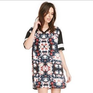 The Fith Label floral T shirt dress